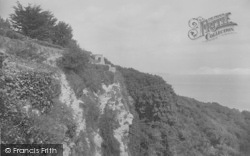 The Upper Landslip And Look-Out Tower 1927, Ventnor