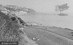 The View From The Undercliff c.1950, Ventnor