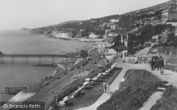View From The East Cliff 1933, Ventnor