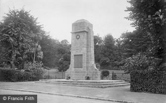 Ventnor, War Memorial 1923