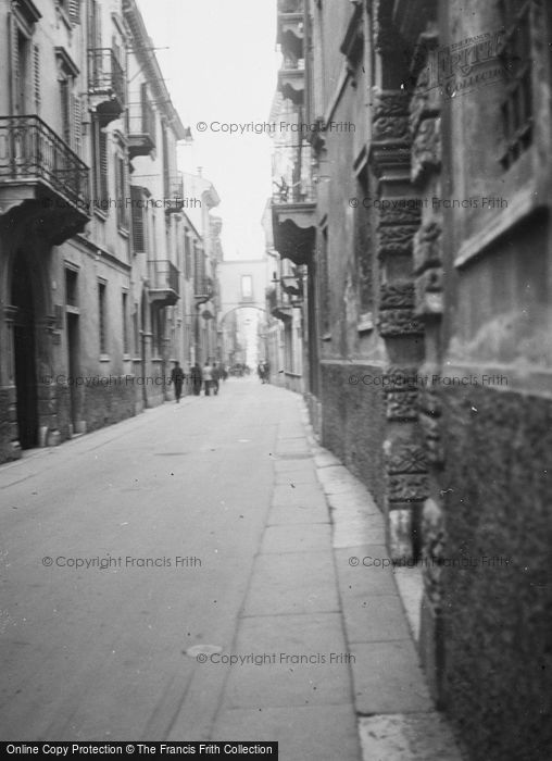 Photo of Verona, A Street c.1938