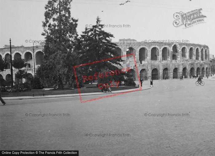 Photo of Verona, Arena From Piazza Brà c.1938