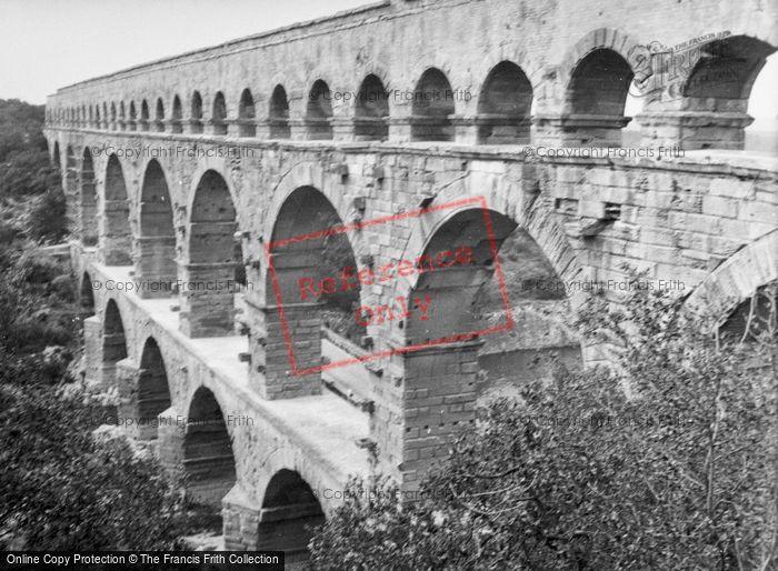 Photo of Vers Pont Du Gard, Pont Du Gard 1939