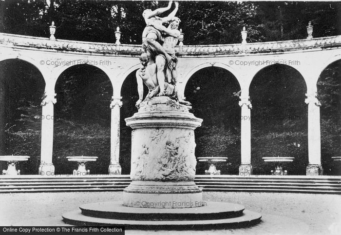 Photo of Versailles, Abduction Of Persephone, The Colonnade c.1920
