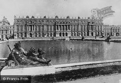 Château From The Gardens c.1920, Versailles