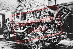 Coronation Coach Of Charles X, Petit Trianon c.1920, Versailles