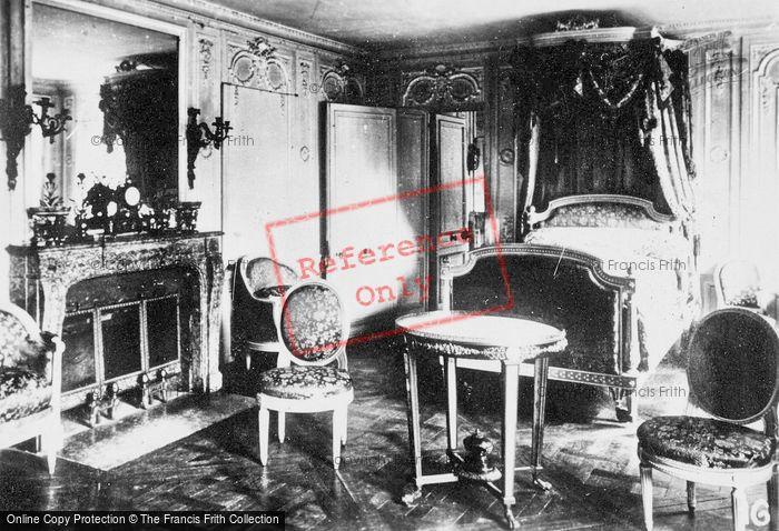 Photo of Versailles, Marie Antoinette's Room, Petit Trianon c.1920