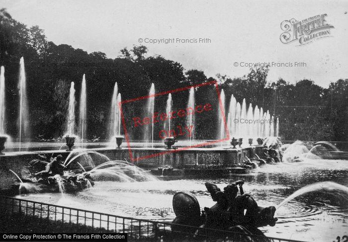 Photo of Versailles, The Neptune Fountain c.1920