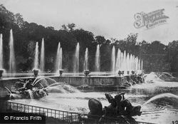 The Neptune Fountain c.1920, Versailles