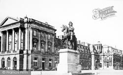 The Palace, Statue 'louis Xiv' c.1871, Versailles
