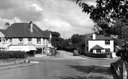 Verwood, Cross Roads c1955