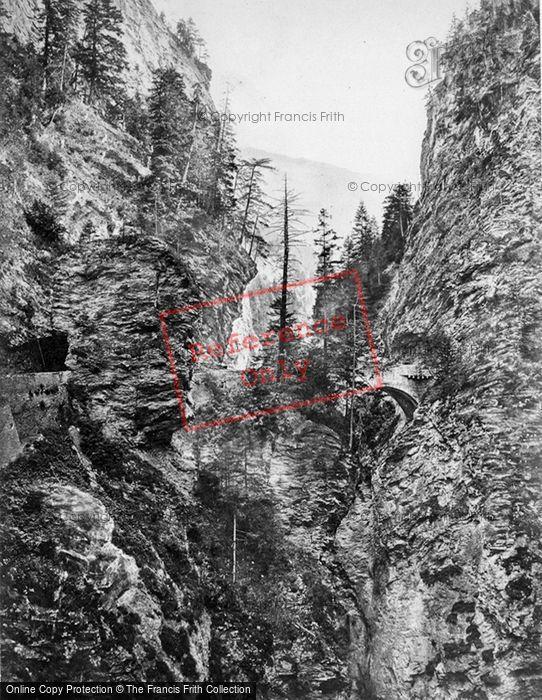 Photo of Viamala, The Second Bridge c.1860