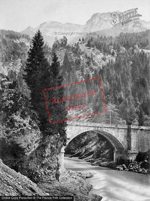 Photo of Viamala, The Third Bridge c.1860