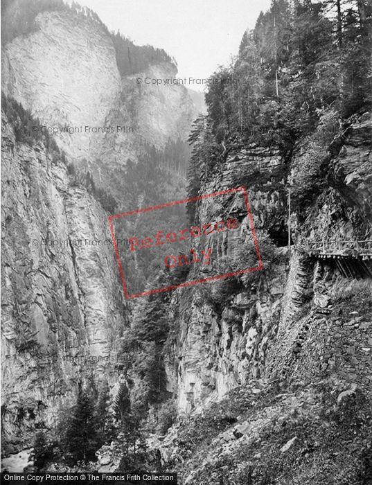 Photo of Viamala, Verlorene Loch c.1860