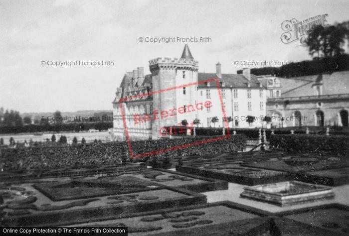 Photo of Villandry, Chateau De Villandry 1935
