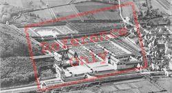 Chateau De Aerial View c.1935, Villandry