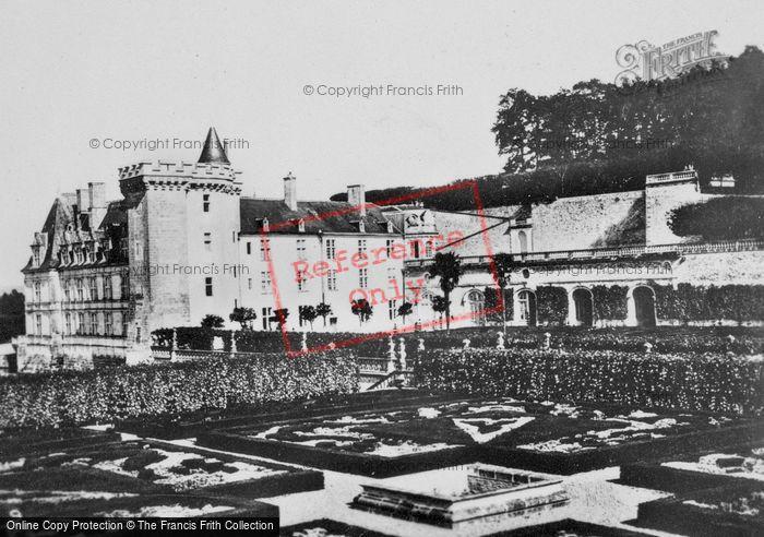 Photo of Villandry, Chateau De Villandry And Gardens c.1930