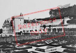 Chateau De Villandry And Gardens c.1930, Villandry