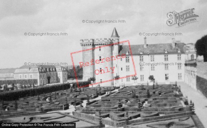 Photo of Villandry, Chateau De Villandry And Gardens c.1935