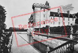 Chateau De Moat c.1930, Villandry