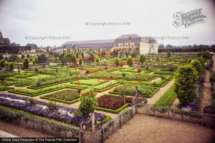 Photo of Villandry, Chateau De Villandry Vegetable Garden 1984