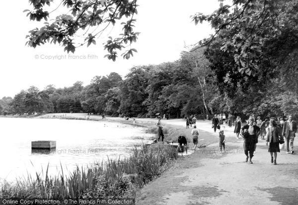 Virginia Water, c1955