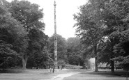 Virginia Water, Totem Pole c1960