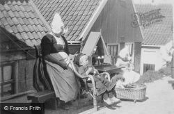 A Woman In Volendam Costume c.1935, Volendam