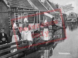 Canal Scene c.1935, Volendam