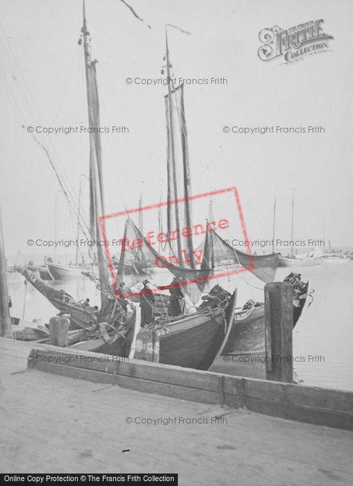 Photo of Volendam, Fishing Boats c.1938
