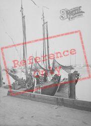 Fishing Boats c.1938, Volendam