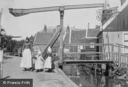 Girls In Volendam Costumes c.1935, Volendam