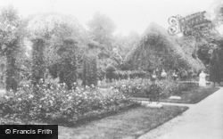 Waddesdon, Manor, Dairy And Rose Garden 1897