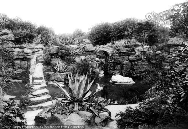 Photo of Waddesdon, Manor, The Rockery 1897