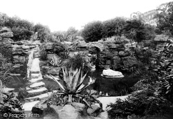 Waddesdon, Manor, The Rockery 1897