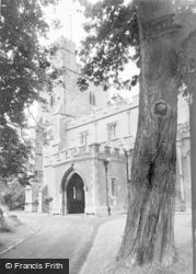 Waddesdon, The Church c.1955