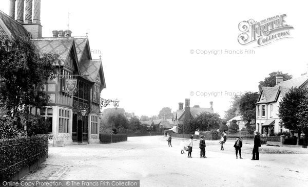 Photo of Waddesdon, The Five Arrows Hotel 1901