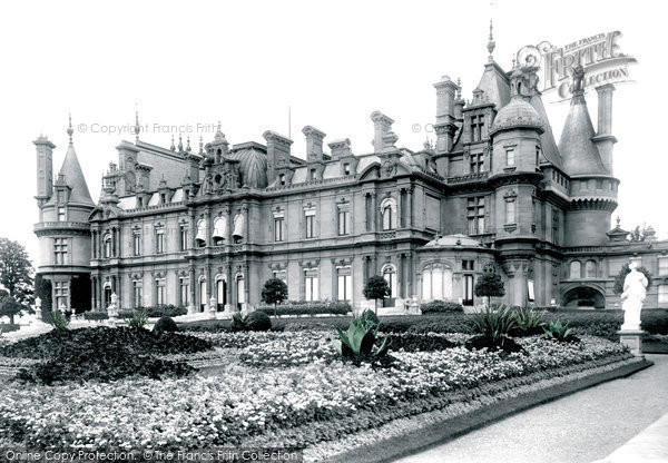Photo of Waddesdon, The Manor, South Front 1897