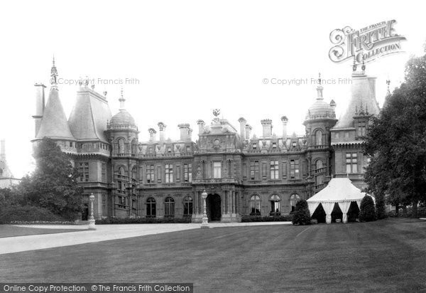 Photo of Waddesdon, The Manor,  West Front 1897