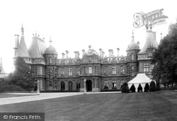 Waddesdon, The Manor,  West Front 1897