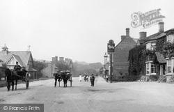 Waddesdon, The Village 1901
