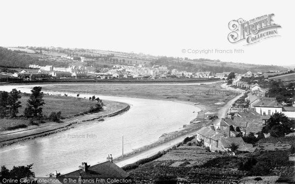 Photo of Wadebridge, From Egloshayle 1895