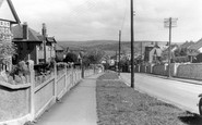 Wadebridge, West Hill c1955