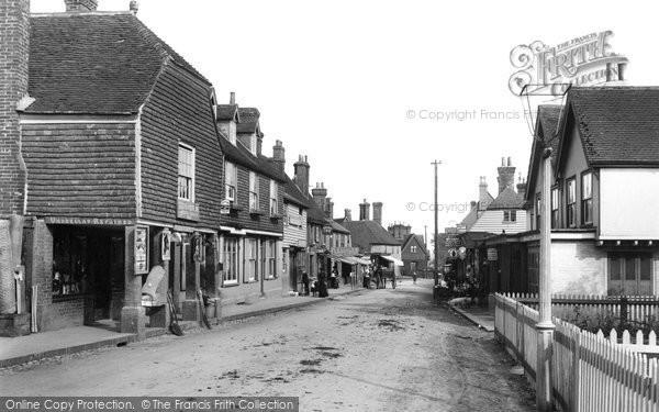 Wadhurst, High Street 1903