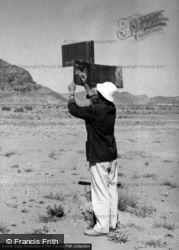 Dr Unwin's Signpost 1965, Wadi Rum