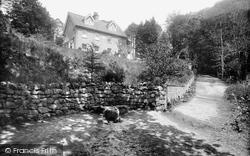 Waggoners Wells, Waggoners Wells Youth Hostel, Wishing Well 1935