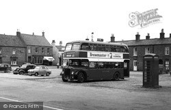 Wainfleet All Saints, Bus c.1955