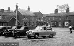 Wainfleet All Saints, Parked Cars c.1955
