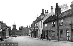 Wainfleet All Saints, Spilsby Road c.1955