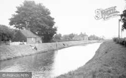 Wainfleet All Saints, The River c.1955